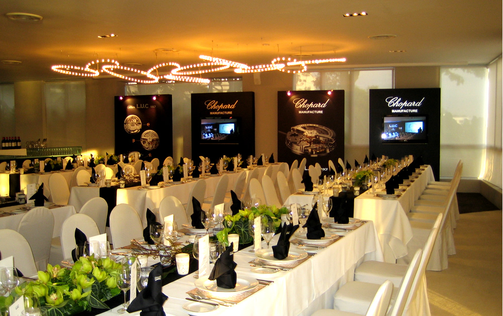 Lian yick project function hall decoration for Hall decoration images